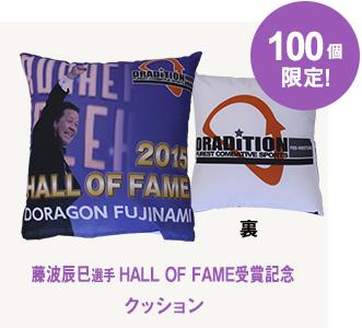 藤波辰爾「2015 HALL OF FAME 受賞記念」 クッション